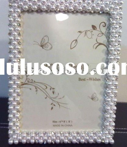 New Item: Pearl shape resin photo frame