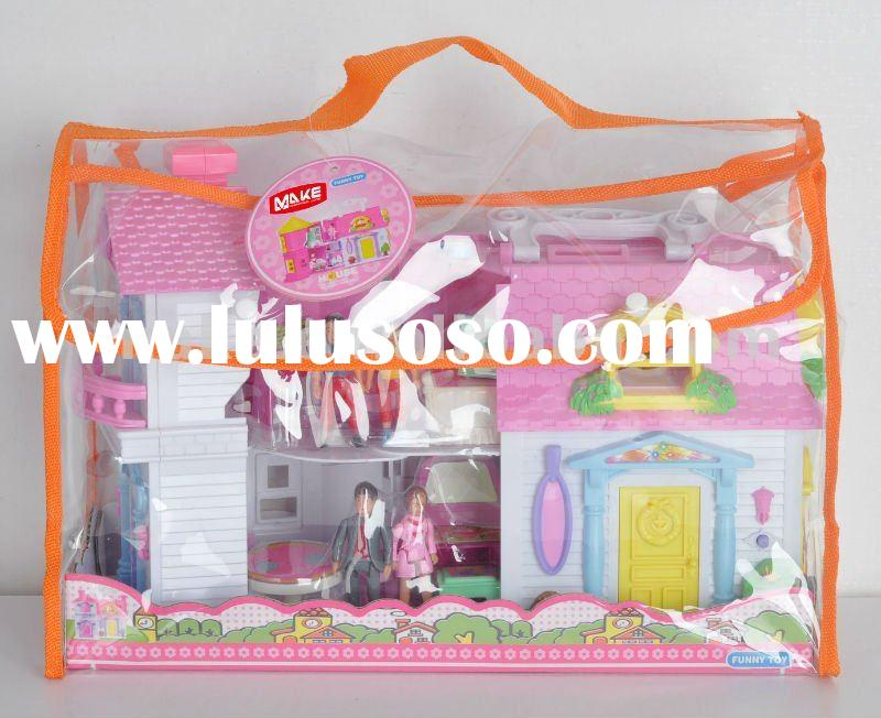 Plastic with light and music furniture toy set