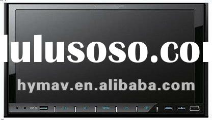 """7"""" UNIVERSAL DOUBLE DIN DVD PLAYER WITH GPS SYSTEM,/10VITUAL DISC MEMORY/2ZONE/PHONEBOOK/RADIO("""