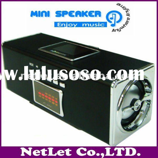 2012 China Newest High Quality Rechargeable mini digital speaker