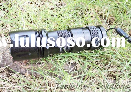 Ultra-bright 230 Lumens Rechargeable CREE R2 LED Tactical Flashlight