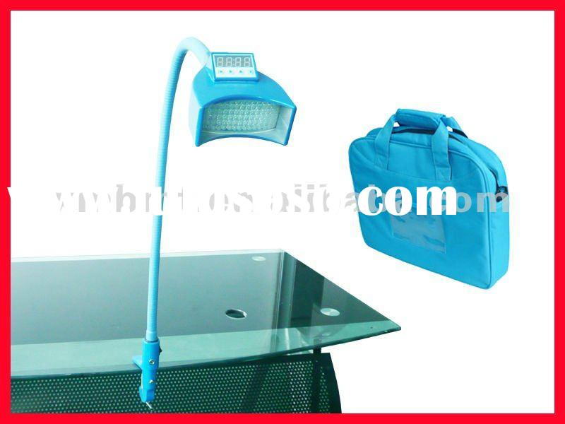 Tooth whitening light / lamp table connecting unit