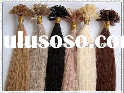 100% indian remy pre-bonded hair extension