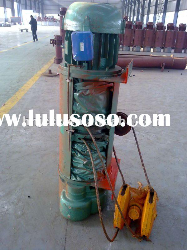 0.5-32ton electric steel wire rope hoist