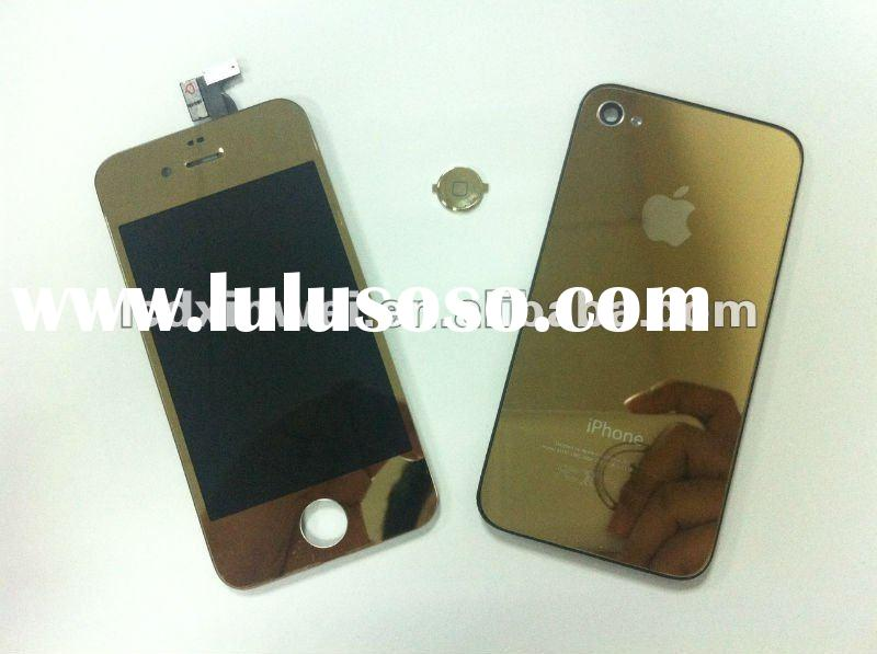 Mobile phone LCD For iPhone 4 LCD and Digitizer Assembly Gold
