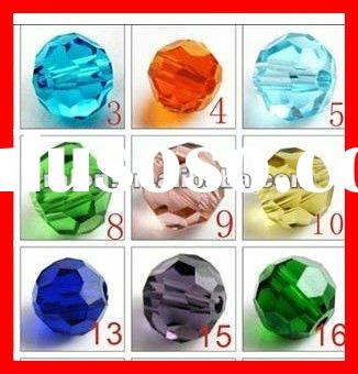 #5000 Crystal Glass Round 32 Faceted Ball Beads Chandelier Pendant Accessories