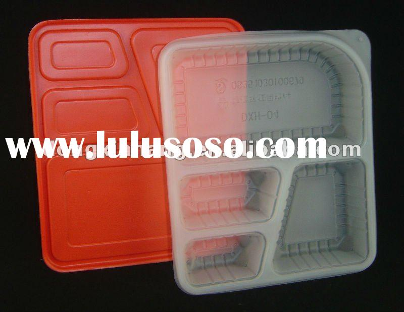 disposable plastic food container