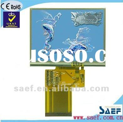 """3.50""""inch LCD module320*(RGB)*240 Landscape Color TFT LCD module display with touch screen pane"""