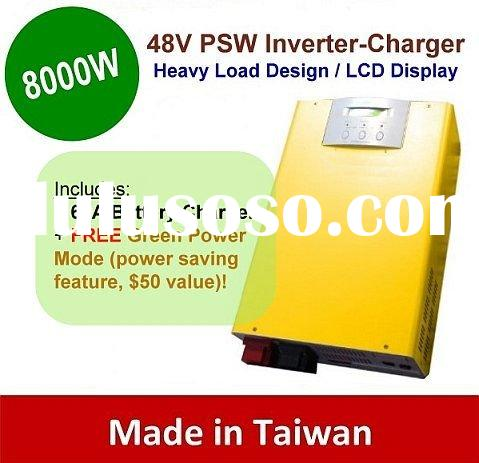 8000w Pure Sine Wave Power Inverter-Charger 48V Output 220V 230V 240V