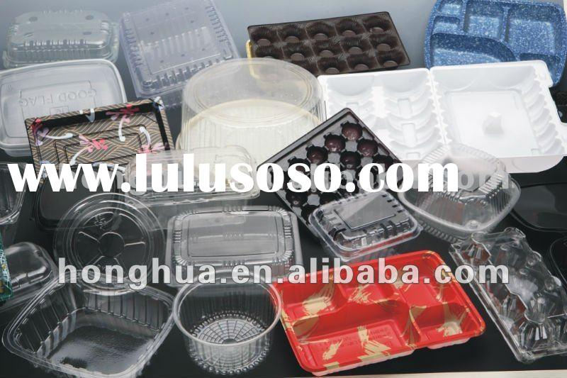 Disposable plastic tray