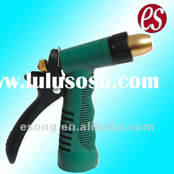 Plastic Water Spray Nozzle with An Adjustable Head