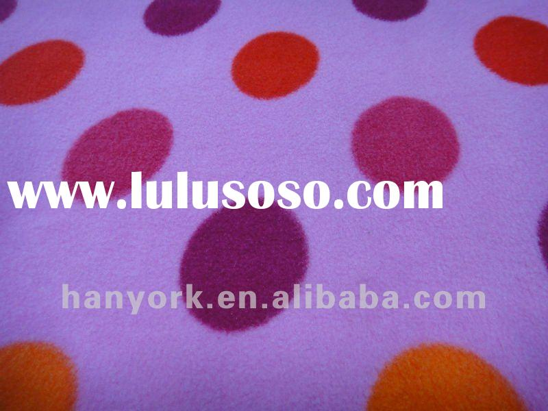 100%POLYESTER SOFT HAND TWO SIDE BRUSHED POLAR FLEECE