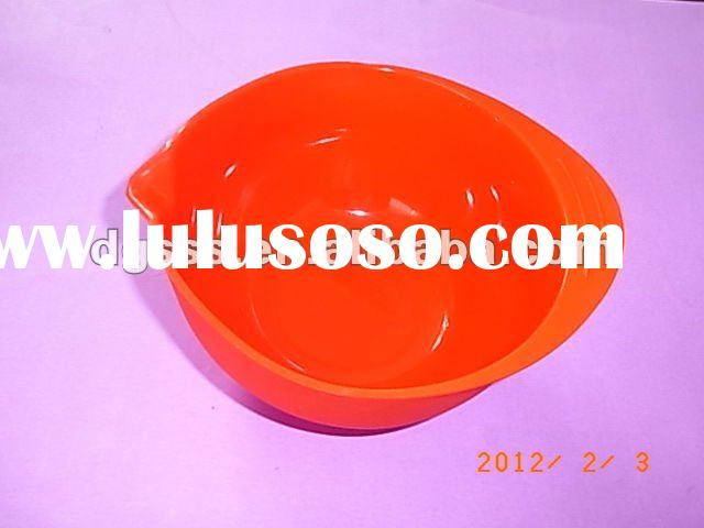 2012 newest design silicone mixing bowl
