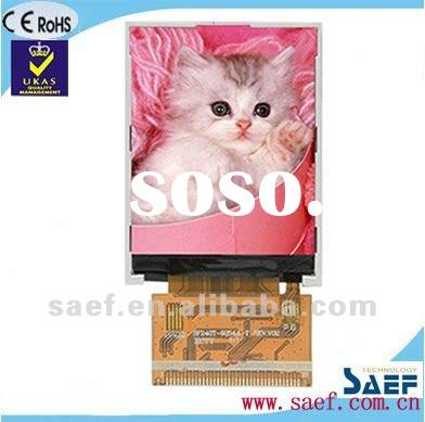 """2.40"""" inch TFT panel without touch panel QVGA 240*(RGB)*320 Dots resolution TFT LCD display mod"""