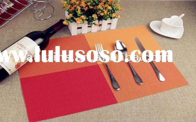 Customized Design PVC Woven Placemat