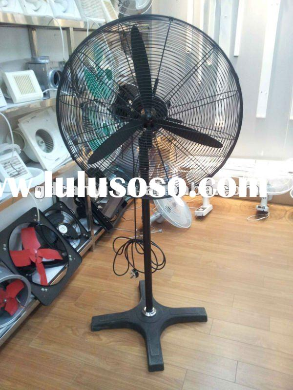 Types Of Industrial Fans : Two blade industrial stand fan for sale price china