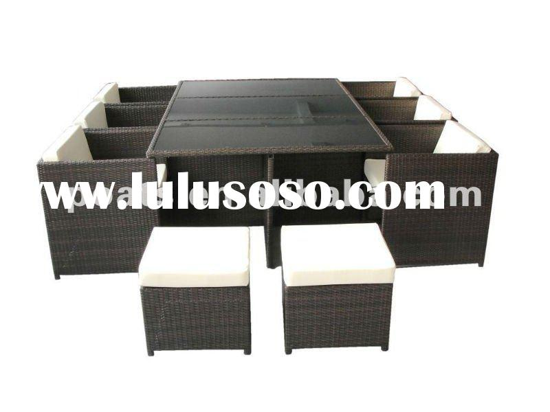 Garden furnitute dining table PS-9107-2