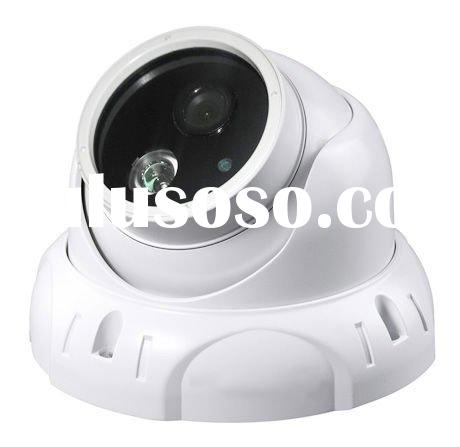 New vandalproof LED array security dome camera