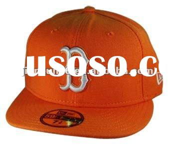 2012 flat peak fitted trucker hat