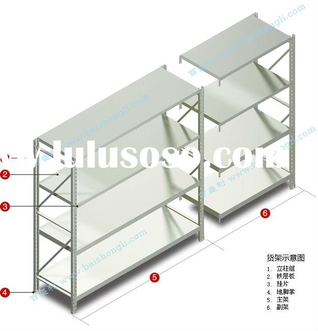 metal shelving of light duty for sale price china. Black Bedroom Furniture Sets. Home Design Ideas