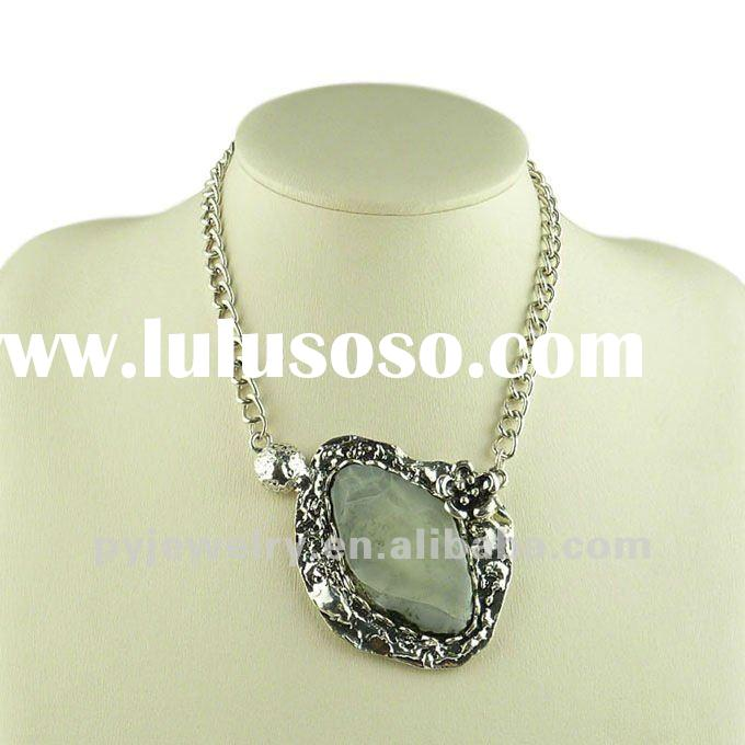 Suprising!! 2012 Fashion Silver-plated Alloy Costume Jewelry Necklace