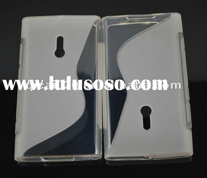 S Style cell phone TPU case for nokia Lumia 800