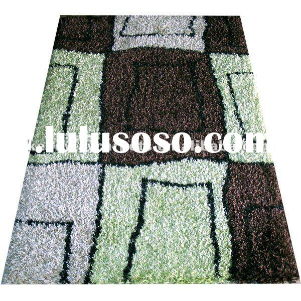 2012 hot sale Acrylic(65%)+Polyester(35%) Elegant Shaggy Carpet KW-E005