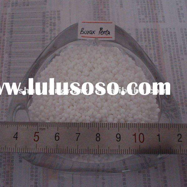 2~3mm Sphere Granular Borax Pentahydrate 15% Boron for Fertilizer