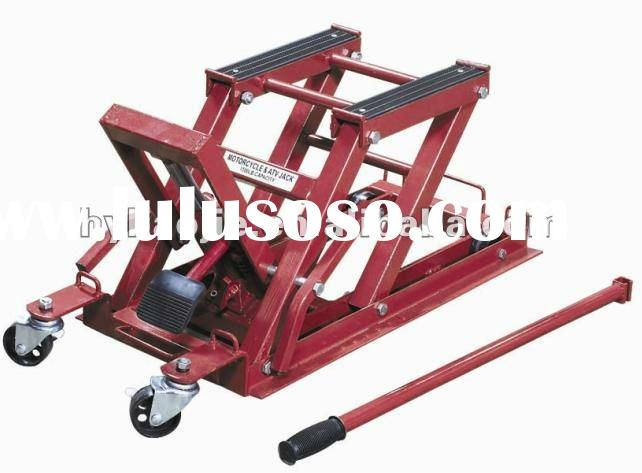 Hydraulic Motorcycle Lift Truck : Atv lift for motorcycle workshop hydraulic lifter