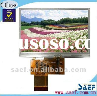 "4.30""inch TFT LCD display 480*(RGB)*272 WQVGA Landscape with Touch Panel"