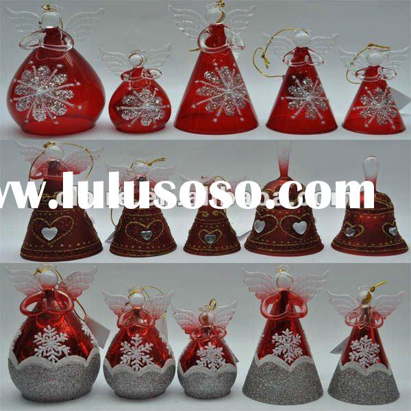 Christmas angel,glass angel,christmas decoration,glass crafts