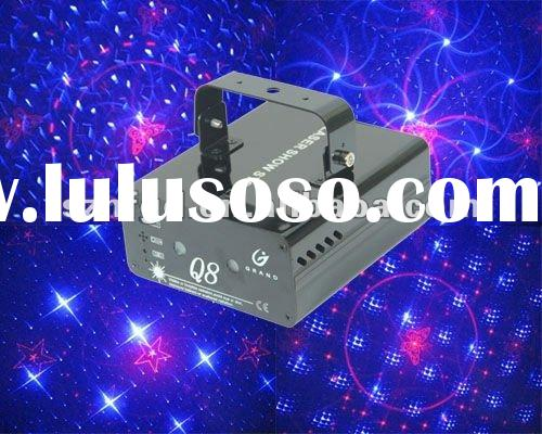 Eight in one dynamic laser light