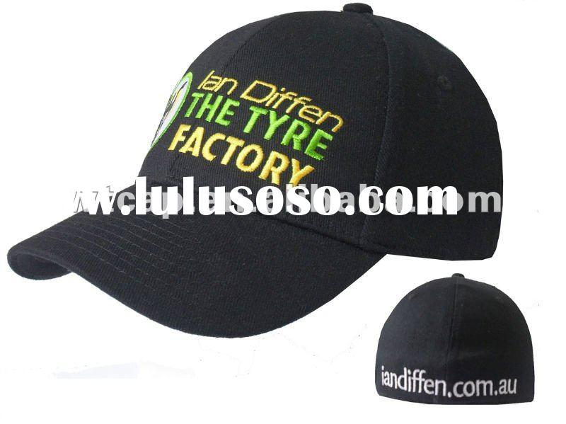 Hot sale embroidered fitted caps and hats
