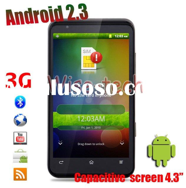 New A1200 3G GPS Smartphone Capacitive Touch WIFI Unlocked Cell Phone