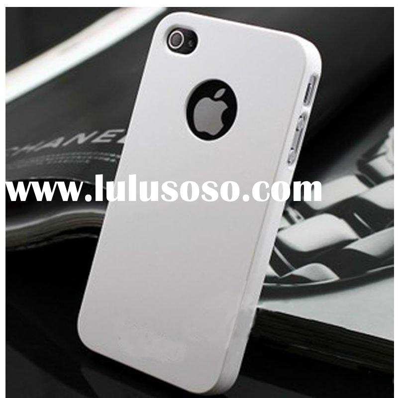 Top quality PC material colorful hard case for iphone 4