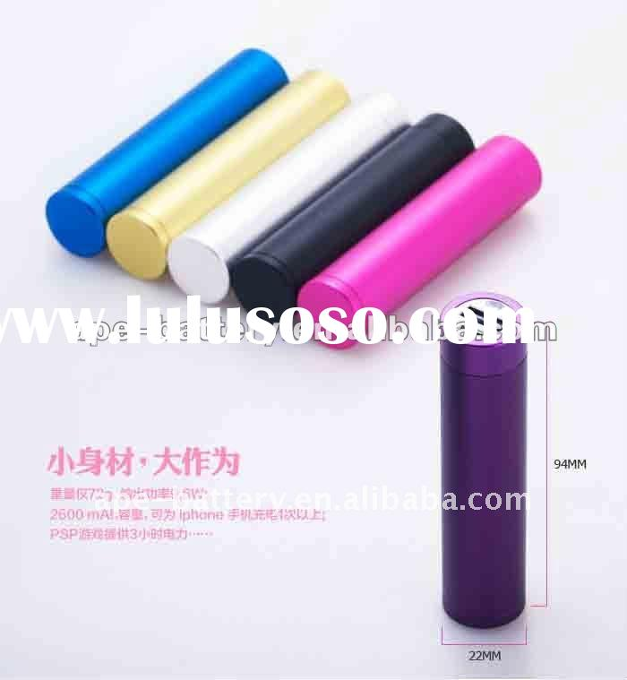 USB output Portable recharge battery pack for iphone for mobile phone