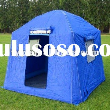 600D polyester oxford pu flame retardant waterproof tent fabric