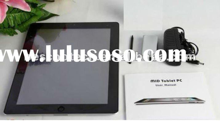 9.7Inch android tablet pc VIA8650 Camera WIFI 3G G-sensor RJ45 External 3G Support FLASH 10.1