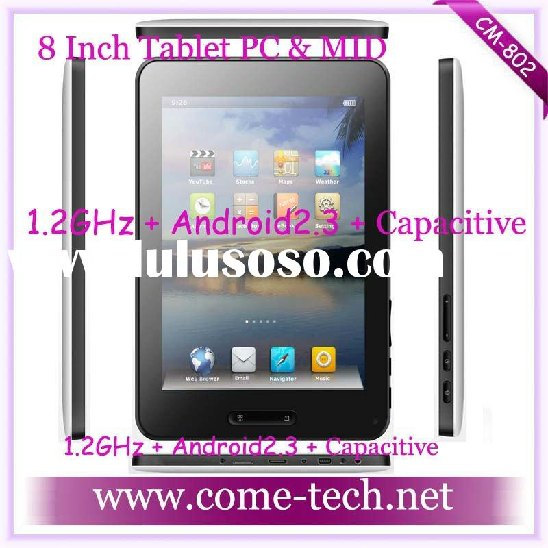 CM-802(Google Android 8 Inch Tablet PC&MID Android 2.3 HDMI Camera Wifi)
