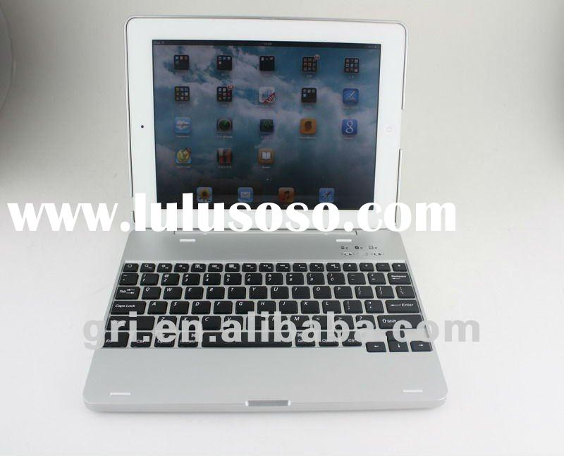 For ipad2 Bluetooth Keyboard with Aluminum Case and 4000mAh Battery