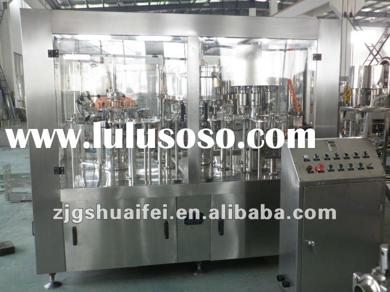 Gas drink filling machine
