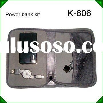 K-606 2500mah portable power bank charger