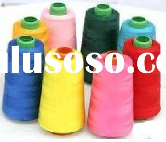 Ne 40/1 colors for Sewing Thread 100% polyester yarn fabric