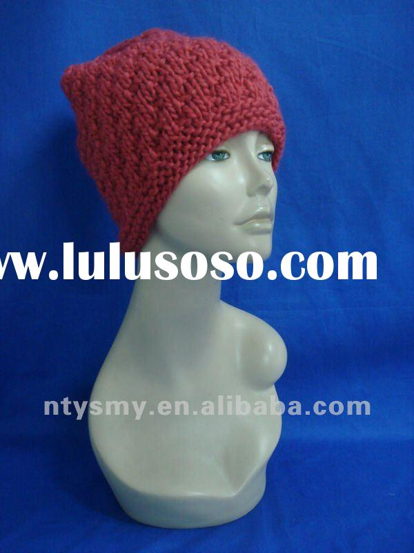 fashion winter knitted beanie hat