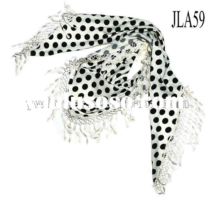 2011 Fashion lady printed scarf in stock