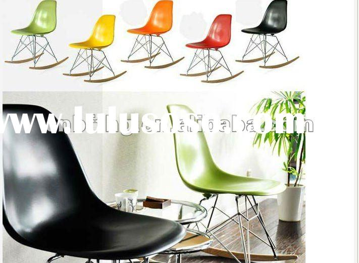 2012 High qualityNew design Eames RSR Rocking Chair (red )