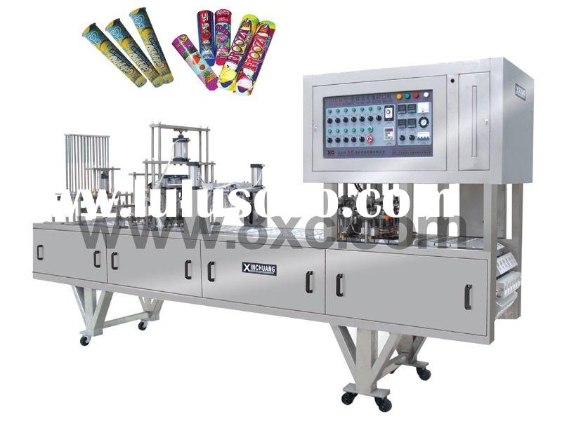 Calippo auto filling sealing machine