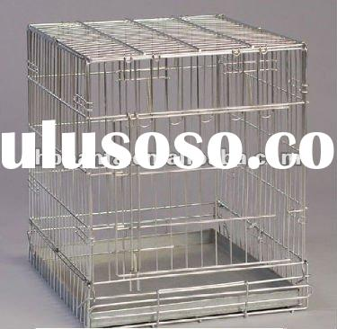 Foldable dog cage/pet cage