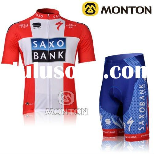 MONTON 2012 Red Short Sleeve Cycling Wear