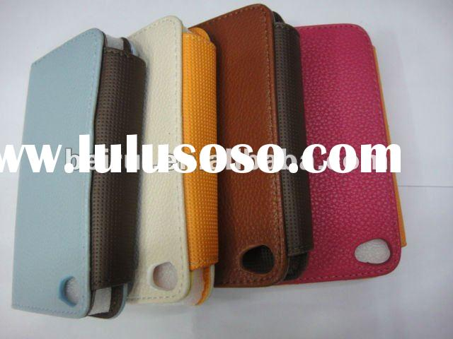 New arrival Fashion Style Luxury leather wallet case For Samsungi9100and i900and909 case
